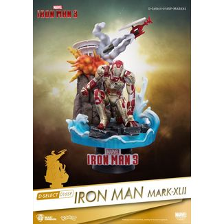 Iron Man Mark XLII Figure Marvel Comics D-Select