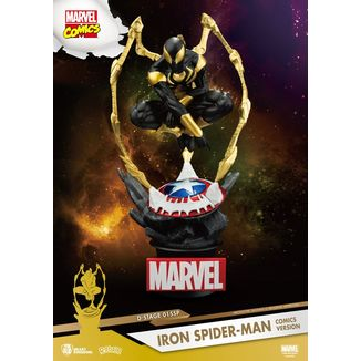 Iron Spider Man Comic Version Figure D-Stage Marvel Comics