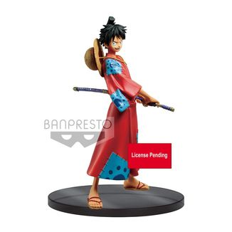 Figura Monkey D Luffy One Piece Stampede DXF Grandline Men