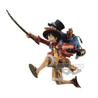 Figura Monkey D Luffy One Piece DXF Three Brothers
