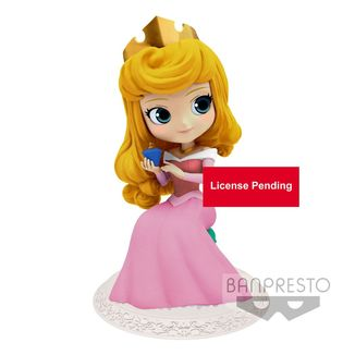 Princess Aurora version A Figure Disney Q Posket Perfumagic