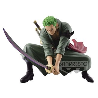 Figura Roronoa Zoro One Piece SCulture BIG BWFC IV Vol 3