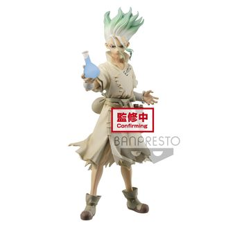 Senku Ishigami Figure Dr Stone Figure of Stone World