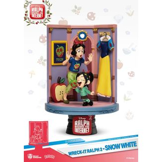 Snow White & Vanellope Figure Ralph Breaks Internet D-Stage