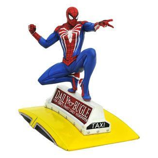 Figura Spider Man on Taxi Spider Man 2018 Marvel Video Game Gallery