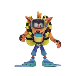 Scuba Crash Deluxe Figure Crash Bandicoot