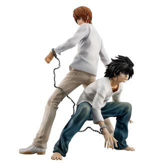 Yagami Light & L Figure Death Note G.E.M.