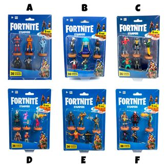 Fortnite Stampers Figures Set of 5