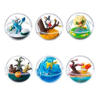 Gashapon Pokemon Terrarium Change Of Seasons (Complete Box)