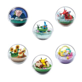 Gashapon Pokémon Terrarium Collection 8 (Caja Completa)