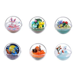 Gashapon Pokémon Terrarium Four Seasons (Caja Completa)