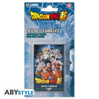 Juego de Cartas 7 Familias Dragon Ball Super