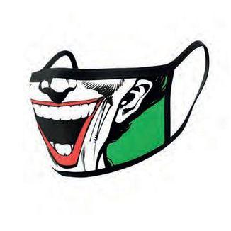 Mascarilla Joker Face DC Comics Pack de 2 máscaras de tela