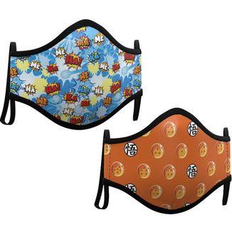 Dragon Ball Mask Pack of 2 fabric masks