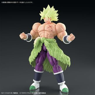 Broly SSJ Full Power Model Kit Dragon Ball Super Figure Rise