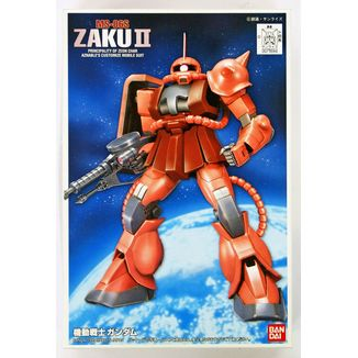 Model Kit Char's Zaku II 1/144 HG Gundam