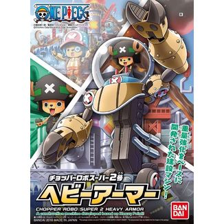 Chopper Super 2 Heavy Armor Model Kit Chopper Robo One Piece