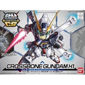 Crossbone Gundam X1 Cross Silhouette Model Kit SD Gundam