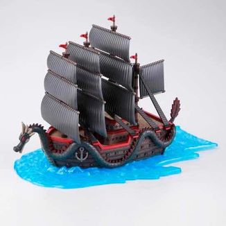 Model Kit Dragon's Ship One Piece Grand Ship Collection