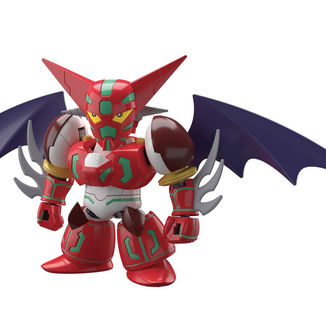 Shin Getter SD Cross Silhouette Model Kit Getter Robo
