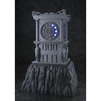 Tower Fire Clock Sanctuary with light Myth Cloth Saint Seiya