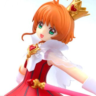 Figure Sakura Kinomoto Red Heart Card Captor Sakura Clear Card