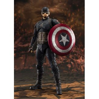 SH Figuarts Capitan America Final Battle Vengadores Endgame