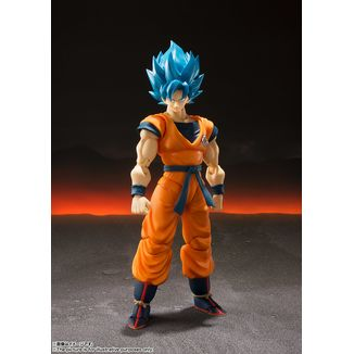 SH Figuarts Son Goku SSG Dragon Ball Super Broly