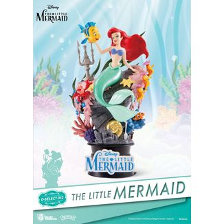 Ariel Little Mermaid Figure Disney Diorama  D-Stage
