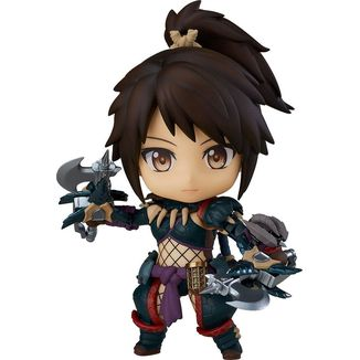Nendoroid 1284 DX Hunter Female Nargacuga Alpha Armor DX Monster Hunter World Iceborne