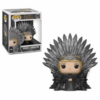 Cersei Lannister on Iron Throne Funko Game Of Thrones POP!