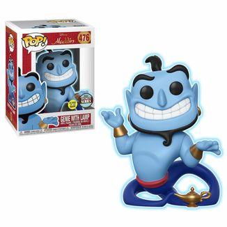 Funko Genio con Lámpara (Brilla en la Oscuridad) Aladdin POP!