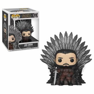 Funko Jon Snow on Iron Throne Juego De Tronos POP!