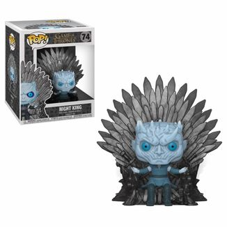 Funko Night King on Iron Throne Juego De Tronos POP!