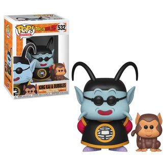 Funko King Kai & Bubbles Dragon Ball Z PoP!