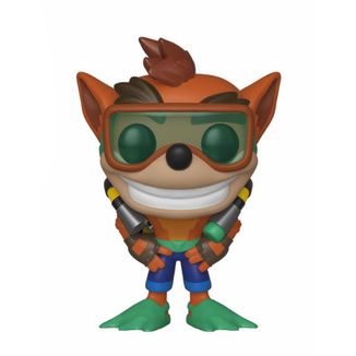 Scuba Crash Funko Crash Bandicoot PoP!