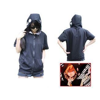Kano Shuuya Short Sleeve Hoodie Kagerou Project
