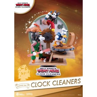Figura Mickey Mouse Clock Cleaners Disney D-Stage