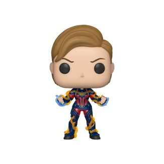 Captain Marvel New Hair Funko Avengers Endgame POP