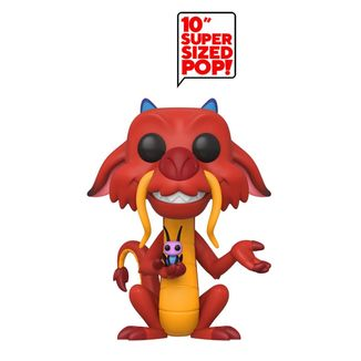 Mushu Funko Mulan Disney Super Sized POP
