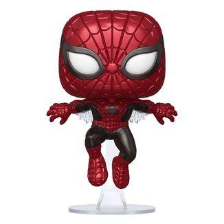 Funko Spider Man Metallic First Appearance 80th Anniversary Marvel Comics POP! 593