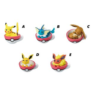 Gashapon Pokémon Teacup Time Mascot 5 (unidad)