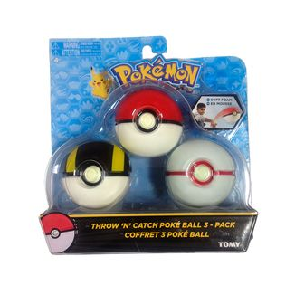 Set Ball Pokemon - Pokeball, Ultra Ball y Honor Ball