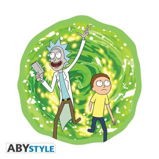 Rick and Morty Portal Mousepad