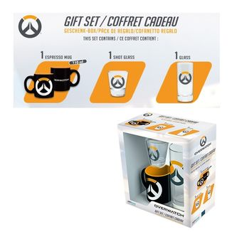 Overwatch Logo Mug, Glass and Shot Glass