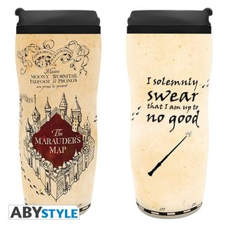 Marauder's Map Travel Mug Harry Potter