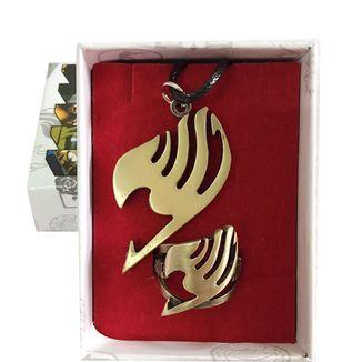 Set Colgante y anillo Fairy Tail - Emblema del Gremio