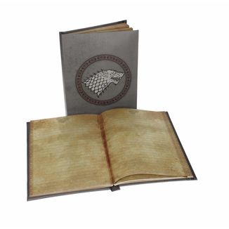 Stark Notebook with Light Game Of Thrones