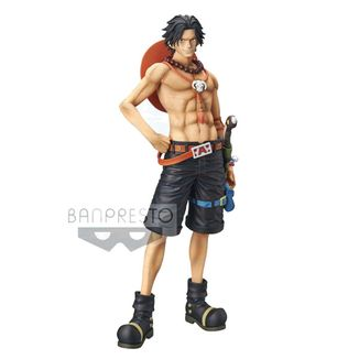 Portgas D Ace Figure One Piece Grandista The Grandline Men