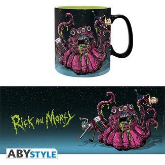 Taza Monster Rick y Morty